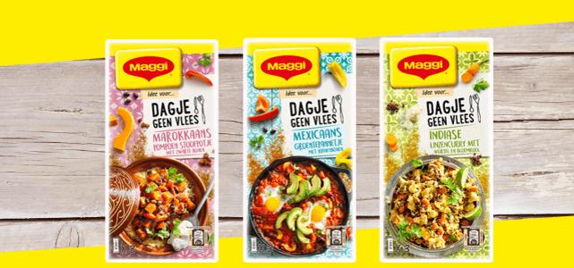 MAGGI Dagje Geen Vlees: voor €0,50