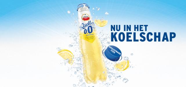 Amstel Radler Citroen 0.0% PET-fles: van €1,49* voor €0,-