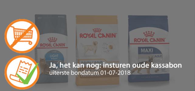 ROYAL CANIN® katten- of hondenvoeding t/m 4 kg: 25% cashback