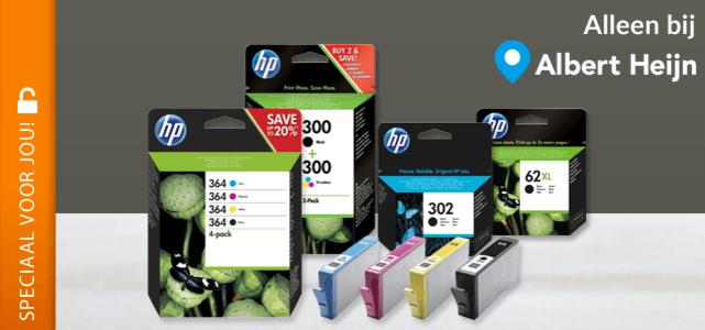 Alle HP cartridges met 25% cashback