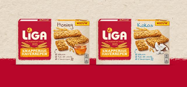 LiGA Knapperige Haverrepen: van €2,29* voor €1,-
