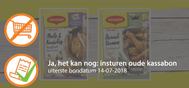MAGGI Braadstomen óf Mals en Kruidig: voor €0,50