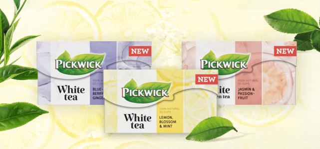 Pickwick White tea: van €1,79* voor €0,50