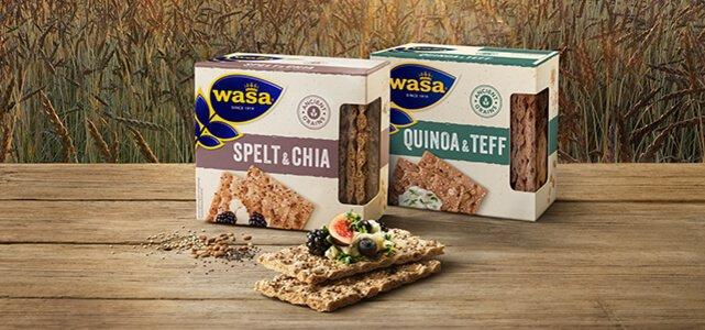 Wasa Ancient Grains: van €2,29* voor €1,-