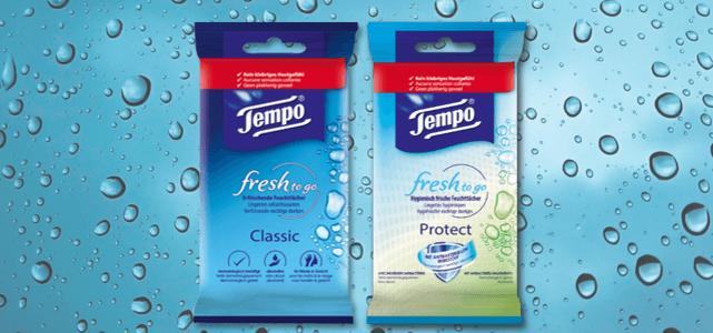 Tempo fresh to go: van €1,29* voor €0,65