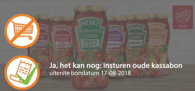 Heinz [Seriously] Good Pastasauzen: van €2,49* voor €1,-