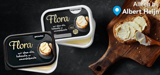 Flora smeerbaar: van €2,39* voor €0,50