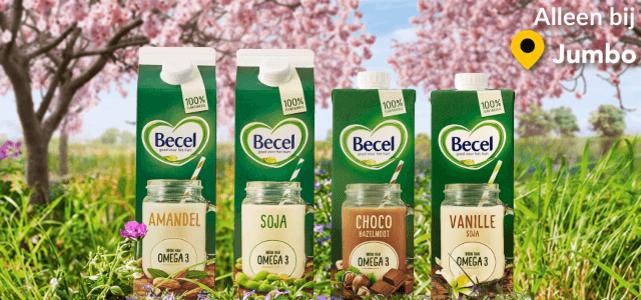 Becel 100% plantaardige drink: van €2,29 - €2,79* voor €0,-