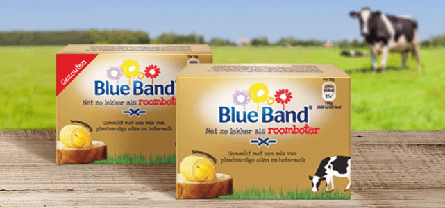 Blue Band Nét zo lekker als roomboter: van €1,49* voor €0,-