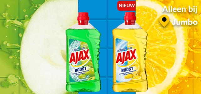 Ajax Boost: van €2,59* voor €1,-