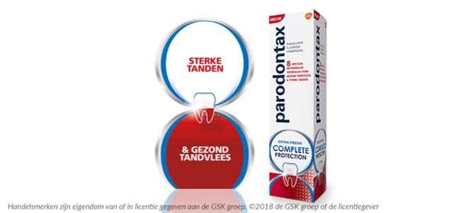 Parodontax Complete Protection: van €5,49* voor €2,-
