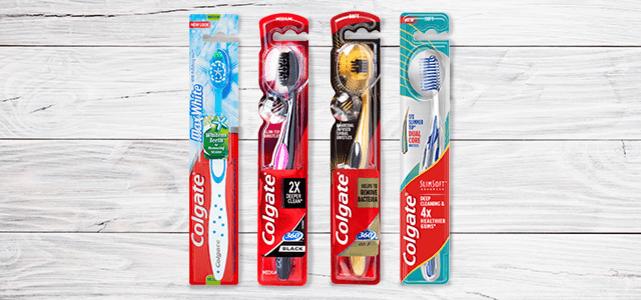 Colgate premium tandenborstels: 50% cashback