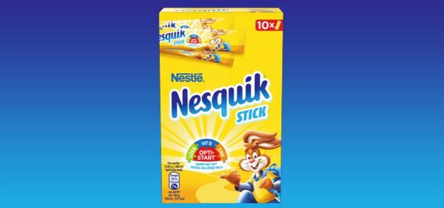 NESQUIK Stick: van €1,85* voor €0,50