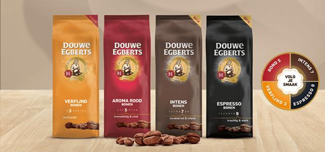 Douwe Egberts bonen: van €5,79* voor €2,50