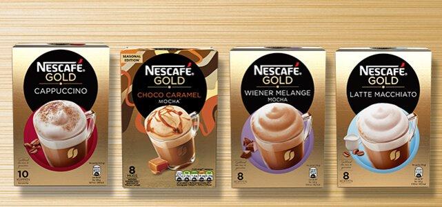 NESCAFÉ GOLD koffiespecials: van €2,79* voor €0,-
