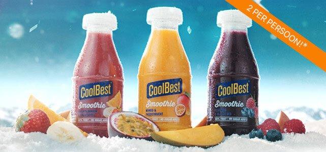 CoolBest Smoothie: van €1,45** voor €0,50