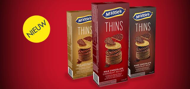 McVitie's THINS: van €1,84* voor €0,50
