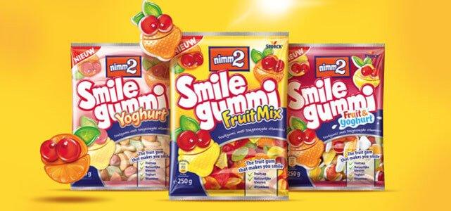 nimm2 Smilegummi: van €1,69* voor €0,-