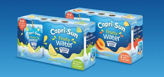 Capri-Sun Fruity Water: van €3,79* voor €1,50