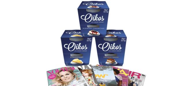 Danone Oikos: nu met tijdschrift* cadeau