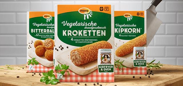 Mora vegetarische snack: van €3,39* voor €1,50