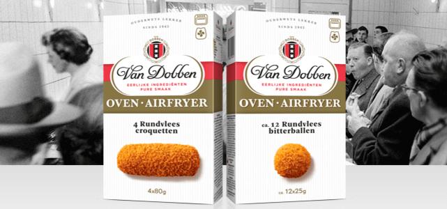 Van Dobben Oven & Airfryer snacks: van €4,09* voor €2,-