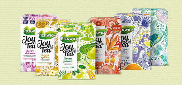 Pickwick Joy of Tea: van €2,05* voor €0,50