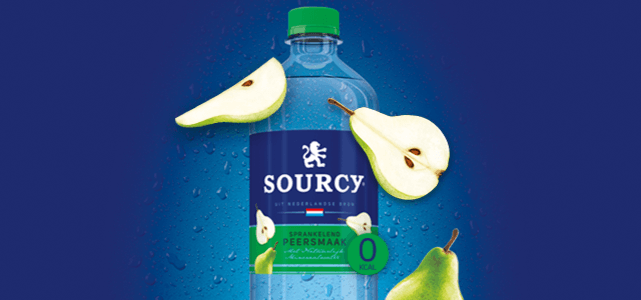 Sourcy Sprankelend met Peersmaak: van €1,12* voor €0,-