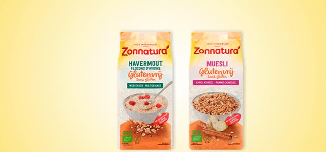 Zonnatura Glutenvrij Ontbijtgranen: van €3,04* voor €1,-