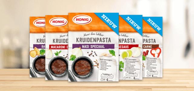 Honig Kruidenpasta: van €1,49* voor €0,-