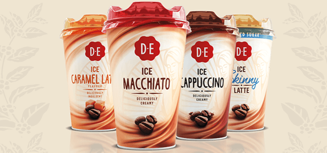 Douwe Egberts Ice Coffee: van €1,33* voor €0,50