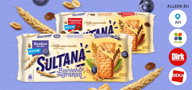 Sultana Boordevol Granen: van €1,85* voor €0,50