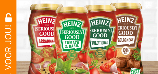 Heinz [Seriously] Good Pastasauzen: van €2,40* voor €1,-