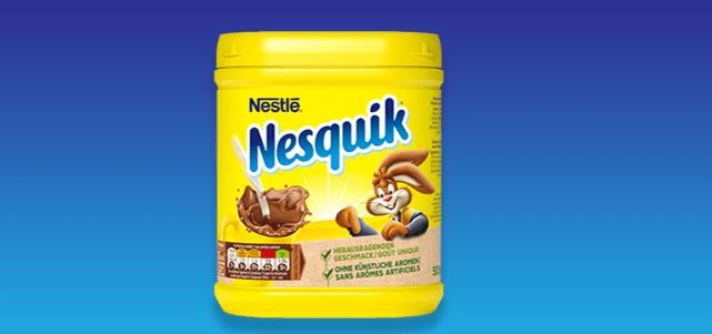 Nestlé Nesquik 500 gr: van €2,30* voor €1,-