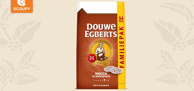 Douwe Egberts Mocca Pads: van €5,95* voor €3,-