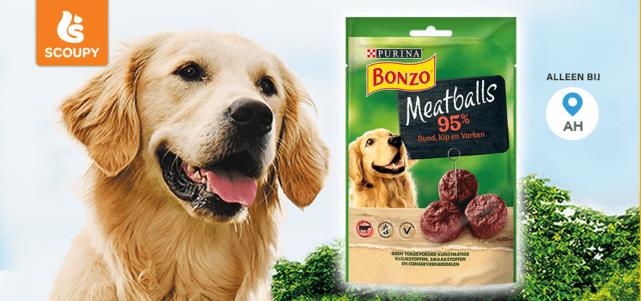 BONZO Snacks Meatballs: van €1,99* voor €0,-
