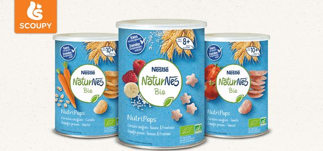 NaturNes® Bio Nutripops: van €1,79* voor €0,50