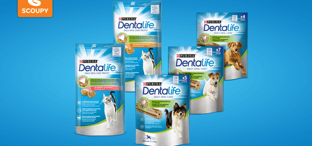 Purina® DentaLife® Daily Oral Care: van €1,59* voor €0,-