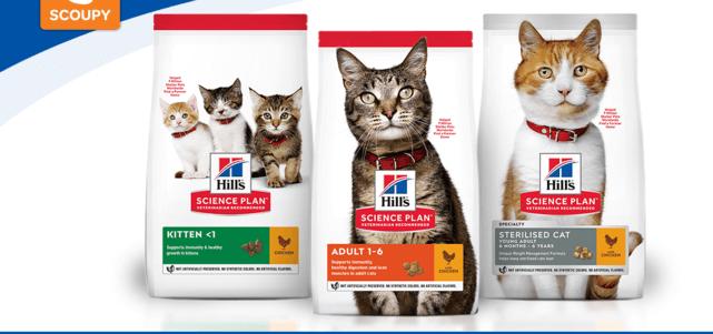 Hill's Science Plan droogvoer voor katten: 50% cashback