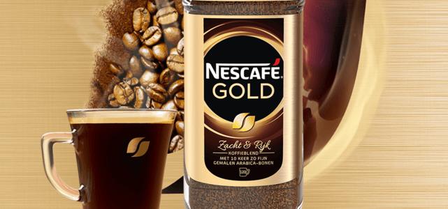 NESCAFÉ® Gold 200 gr: van €7,30* voor €3,-
