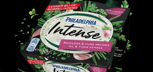 Philadelphia Intense Knoflook & Fijne Kruiden: voor €1,-