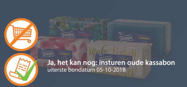 Tempo Original Box: van €1,89* voor €0,75