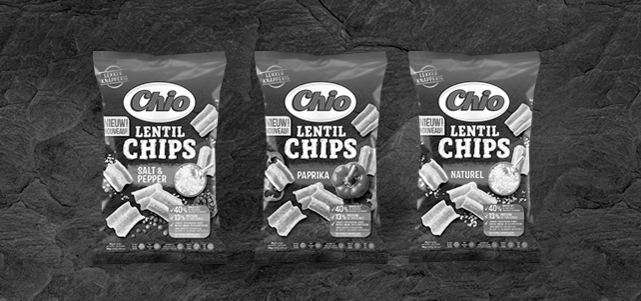 Chio Lentil chips: van €1,49* voor €0,50