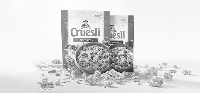 Quaker Cruesli® 160 g: van €1,39* voor €0,50