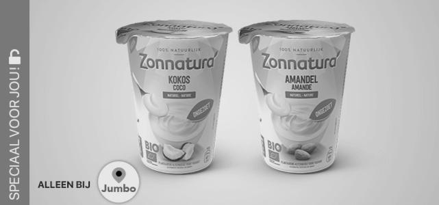 Zonnatura plantaardige yoghurt: van €3,69* voor €0,-