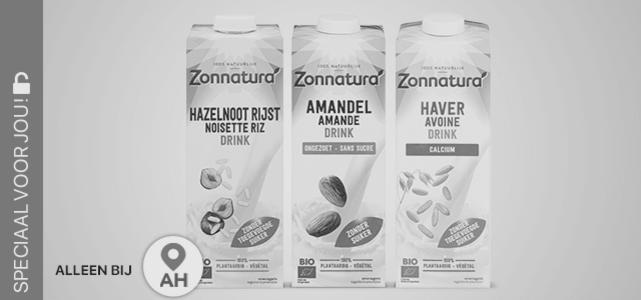 Zonnatura plantaardige drank: van €2,66* voor €1,-