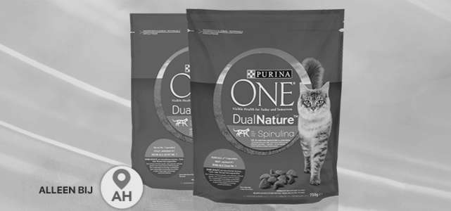 PURINA ONE® DualNature™: van € 4,99* voor €2,49