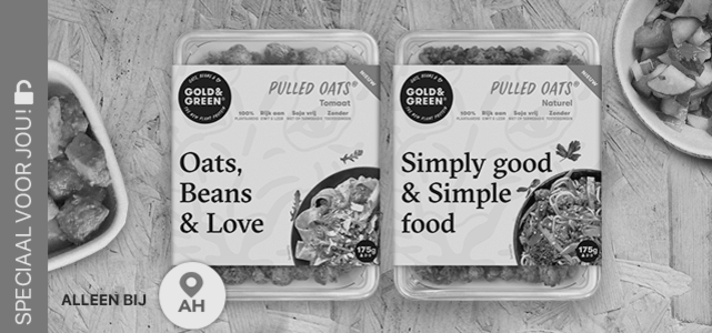 Gold & Green Pulled Oats®: van €2,99* voor €0,-
