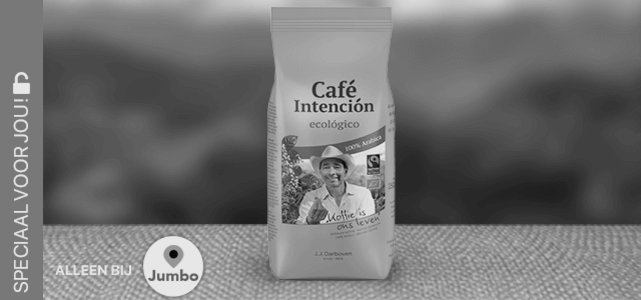 Café Intención filterkoffie: van €3,65* voor €1,83