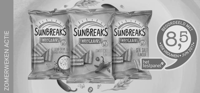Sunbreaks®: van €1,29* voor €0,50